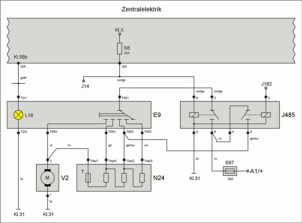 Ausgezeichnet Vw Trike Schaltpläne Galerie - Elektrische Schaltplan ...