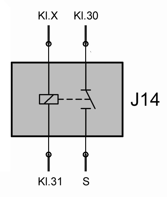 Relais J14 (Warmluftgebläse) – T4-Wiki