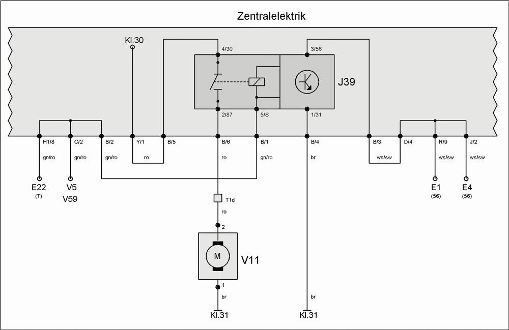 Relais J39 (Scheinwerferreinigungsanlage) – T4-Wiki