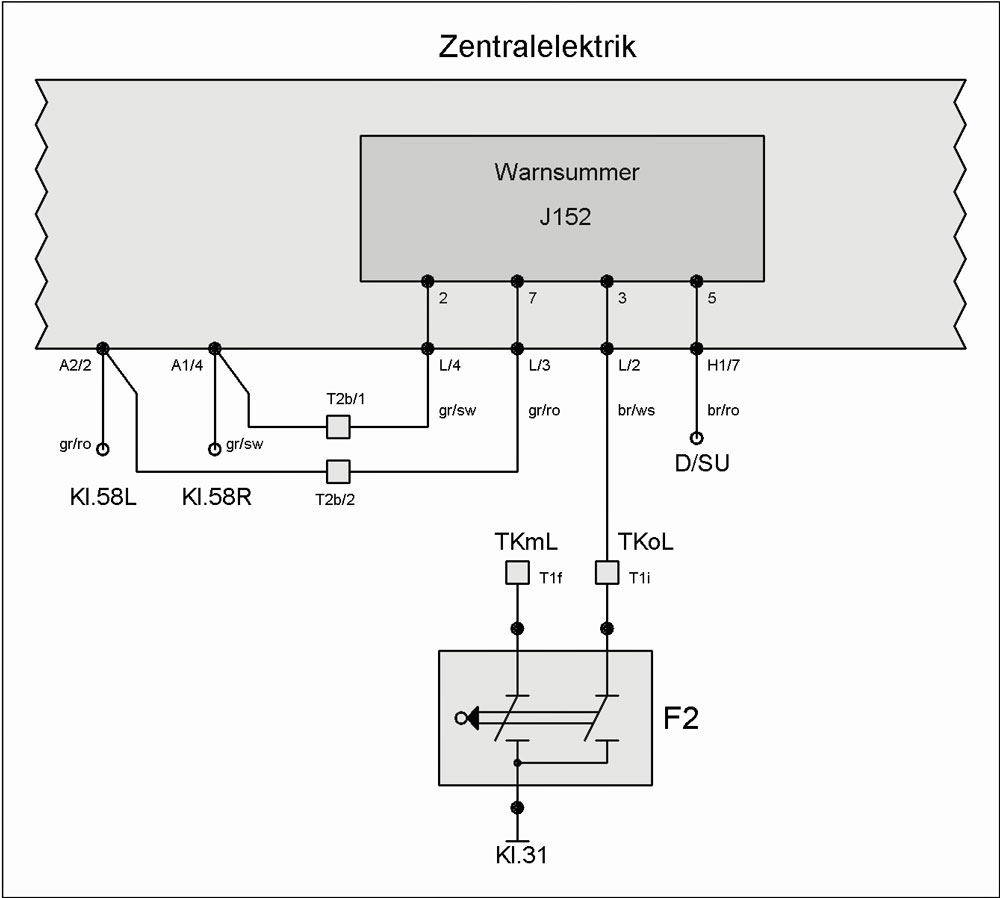 warnsummer j152 eingeschaltetes licht t4 wiki. Black Bedroom Furniture Sets. Home Design Ideas