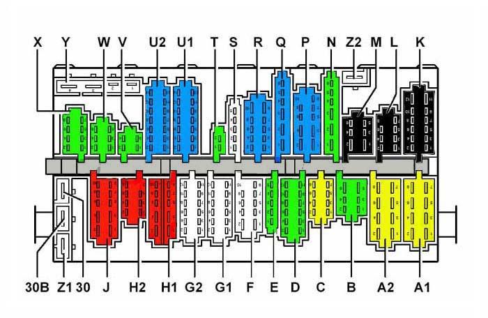 Mehrfachstecker  U2013 T4