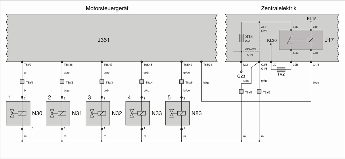 Atemberaubend Vr6 Schaltplan Bilder - Die Besten Elektrischen ...